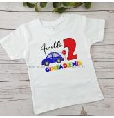 Antro gimtadienio marškinėliai