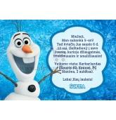 """Kvietimai """"Linksmasis Olafas"""""""