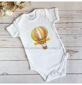 """Marškinėliai vaiko gimtadieniui """"Oro balionas"""""""