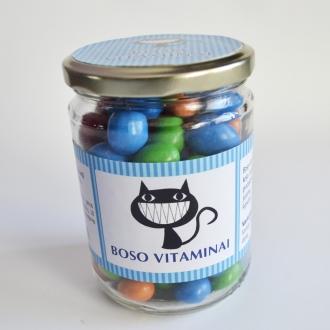 """Etiketė """"Boso vitaminai"""""""