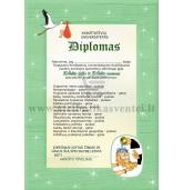 Diplomas krikštatėviams