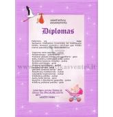 Diplomas Krikšto mamai