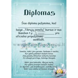 Diplomas seneliams (berniuko)