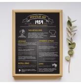 """Paveikslas """"Atgal į 1959 metus"""" - 30x40 cm formatas"""