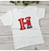 """Marškinėliai """"Vardo raidė"""" (Pagalbos tarnybos)"""