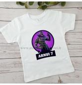 Fortnite gimtadienio marškinėliai