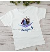 Frozen gimtadienio marškinėliai