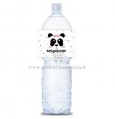 """Maža gėrimo etiketė """"Panda"""""""