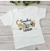 Safari gimtadienio marškinėliai