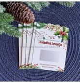 Kalėdinės loterijos bilietai