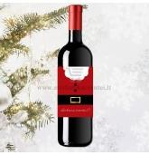 Kalėdinio vyno etiketė