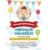 Elektroninis kvietimas į gimtadienį virtualioje erdvėje 003