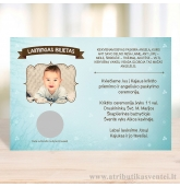 Krikštynų kvietimai, laimingas bilietas