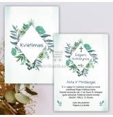 Krikštynų, vestuvių, gimtadienio kvietimas (KV-138)
