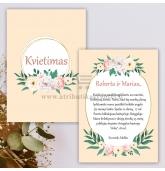 Krikštynų, vestuvių, gimtadienio kvietimas (KV-139)