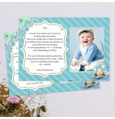 Kvietimai į berniuko krikštynas