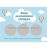 Gimtadienio loterija, Oro balionai