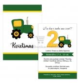 Traktorių gimtadienio kvietimas