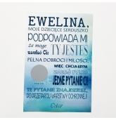 Kvietimas krikšto tėvams lenkų kalba (B)
