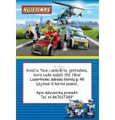 Kvietimas Lego tema
