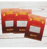 Stalo kortelė ir loterijos bilietas (L-421)