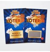 Personalizuotas loterijos bilietas lenkų kalba (M)