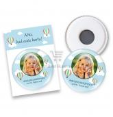 Atminimo dovanėlės svečiams, magnetukai su Oro balionais