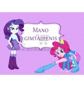"Etiketė ""My Little Pony: Equestria Girls"""