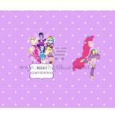 "Saldainių popieriukai 15 vnt ""My Little Pony: Equestria Girls"""