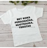 Personalizuoti vaiko gimtadienio marškinėliai
