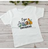 """Gimtadienio marškinėliai  """"Džiunglių gyvūnai"""""""