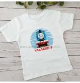 """""""Thomas the train"""" gimtadienio marškinėliai"""