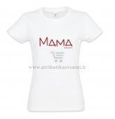 """Marškinėliai mamai """"Mama nuo ...."""""""