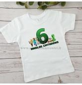 Marškinėliai Minecraft gimtadieniui