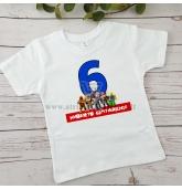 """Vaiko gimtadienio marškinėliai """"Roblox"""""""