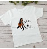"""Gimtadienio marškinėliai """"Arklys"""""""
