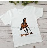 Gimtadienio marškinėliai su Arkliu
