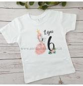 Gimtadienio marškinėliai su Flamingu