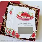 Personalizuoti Meilės koponai JAI (su dėžute)