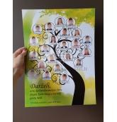"""Dovana mokytojai - paveikslas """"Mokinių medis"""""""