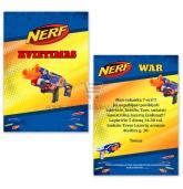 """""""Nerf"""" gimtadienio kvietimas"""