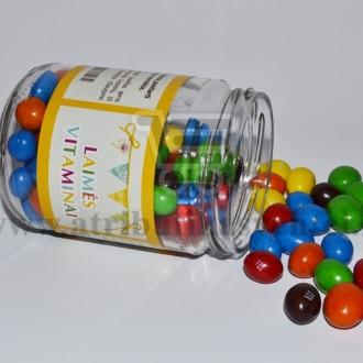"""Etiketė """"Laimės vitaminai"""""""