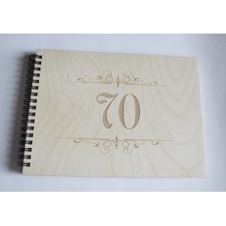 """Palinkėjimų knyga """"70"""""""