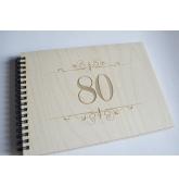 """Palinkėjimų knyga """"80"""""""