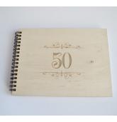 """Palinkėjimų knyga """"50"""""""