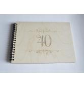 """Palinkėjimų knyga """"40"""""""
