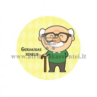 """Ženkliukas """"Geriausias senelis"""""""