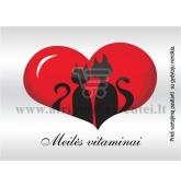 """Etiketė """"Meilės vitaminai"""""""