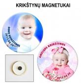 Personalizuoti krikštynų magnetukai