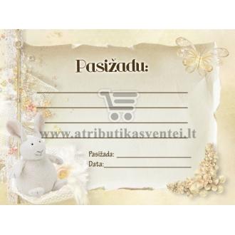 Pasižadėjimų kortelė